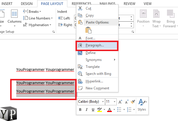 how to Double Space In Microsoft
