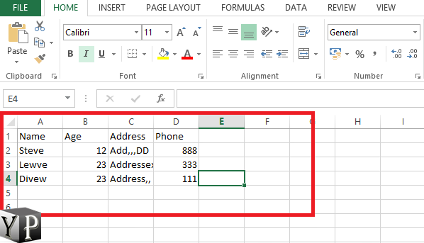 how to make labels from excel