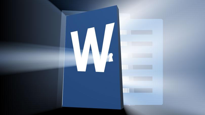 Microsoft word auto recovery files