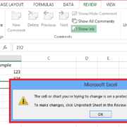 password protect spreadsheet excel