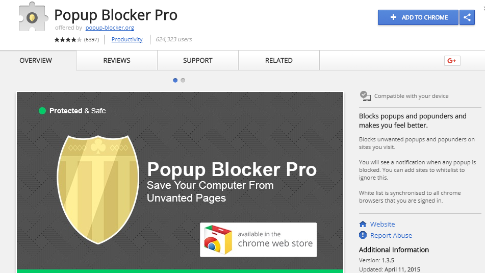 popup blocker pro for chrome