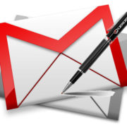 writing signature in gmail