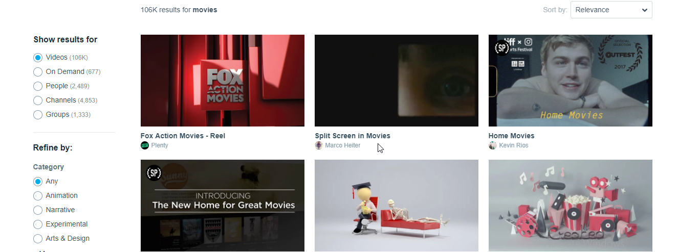 vimeo unblocked movies watch
