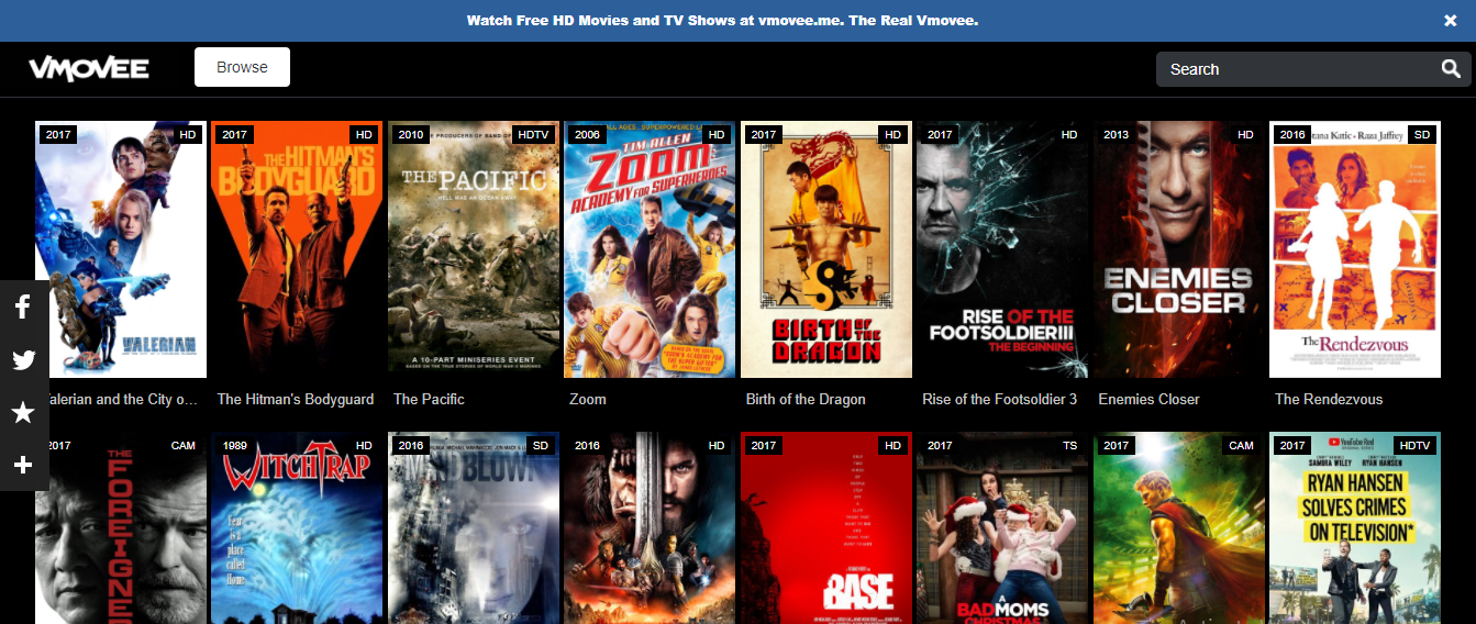 vmovee unblocked movie streaming