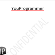 watermarked page word