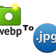 webp to jpg conversion