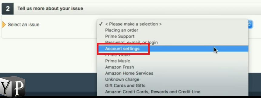 amazon account settings