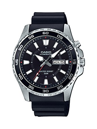 casio mens black MTD-110-1AVCF