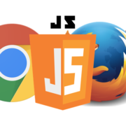 run javascript file in chrome and firefox