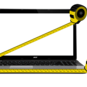 measure laptop screen size