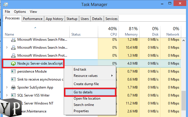 how to change the app connection priority in windows 10