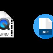 webm to gif convert