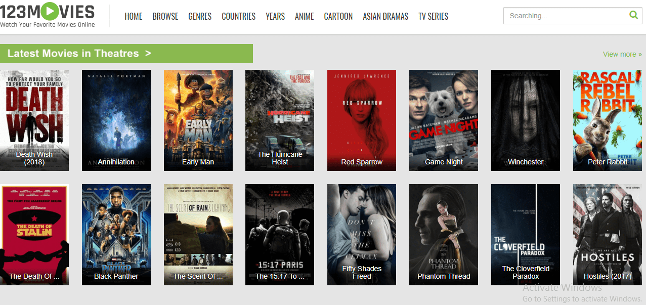 Watch free movies online unblocked site