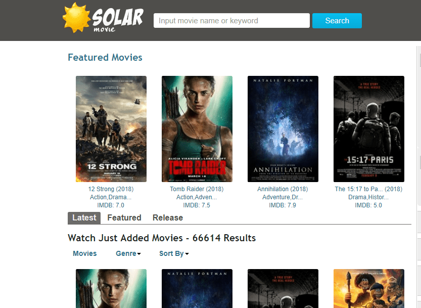 solarmovie sites like primewire
