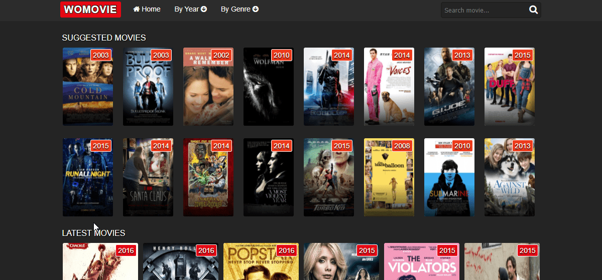 womovie movie streaming site