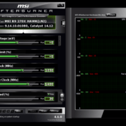 msi afterburner interface