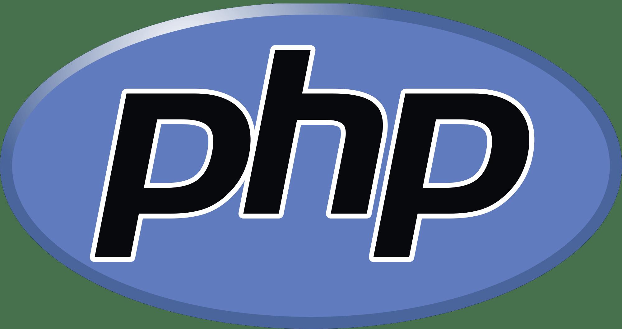php language logo