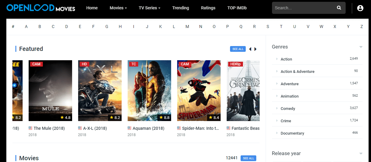 50+ Sites for Full Movies Online for Free Without Downloading or