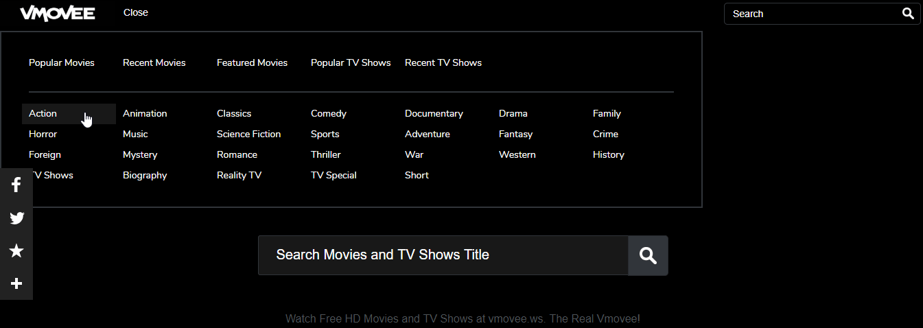 vmovee site for watching online movies
